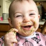 She LOVES pesto!     hbe babyemi ourbabygirlhellip