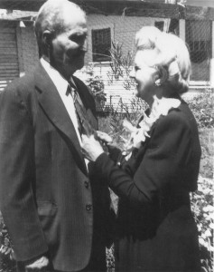 C.E. Holladay and Bertha Lynch Holladay