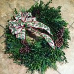 This years Christmas wreath!     holidaydecor holidaydiyhellip