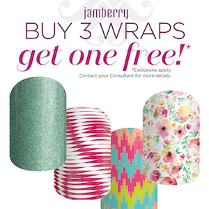 Jamberry - Buy 3 Wraps Get 1 Free!